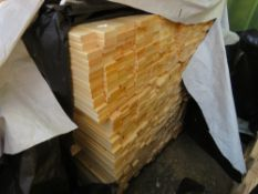 LARGE PACK OF UNTREATED TIMBER SLATS, 1.72M LENGTH X 45MM X 18MM APPROX.