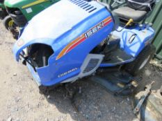 ISEKI DIESEL SXG 326 PROFESSIONAL RIDE ON MOWER. YEAR 2012, REG:EX63 TRZ. SOME PARTS APPEARED TO BE