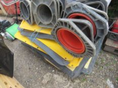 QUANTITY OF ROAD CONES AND GRP CROSSING PLATES.