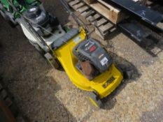 IRONSIDE PETROL MOWER, NO BOX. UNTESTED, CONDITION UNKNOWN.