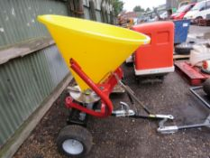 WESSEX QUAD BIKE TOWED SPREADER UNIT, UNUSED. COMES WITH OPTION OF RING OR BALL HITCH.