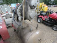 LARGE HYDROVANE COMPRESSOR, 3 PHASE, WITH RECEIVER TANK, SOURCED FROM FACTORY CLOSURE. NO VAT ON HAM