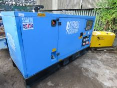 STEPHILL 70KVA GENERATOR. PERKINS ENGINE. 3441 REC HOURS. YEAR 2012 APPROX.
