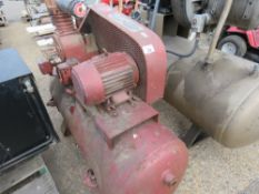 LARGE RED COMPRESSOR, SOURCED FROM FACTORY CLOSURE. NO VAT ON HAMMER PRICE.