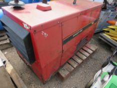 LINCOLN RANGER 405D DIESEL WELDER GENERATOR WITH KUBOTA ENGINE, WHEN TESTED WAS SEEN TO RUN AND SHOW