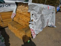 MIXED LENGTH TIMBER SLATS 1.14M-2.18M LENGTH APPROX. 45MM X 18MM APPROX.