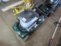 HAYTER HARRIER 41 ROLLER MOWER, NO BATTERY OR COLLECTOR. UNTESTED, CONDITION UNKNOWN. NO VAT ON HAM