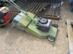 HAYTER HARRIER ROLLER MOWER WITH BOX. RUNS AND DRIVES.