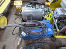 2 X SMALL WELDERS, 240 VOLTS, MIG AND ARC.UNTESTED, CONDITION UNKNOWN.