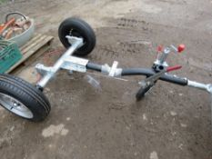 ALKO AXLE AND DRAWBAR ASSEMBLY FOR COMPRESSOR OR GENERATOR ETC, UNUSED.