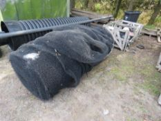 LARGE ROLL OF FILTRATION TYPE NETTING MATERIAL. COULD ALSO BE USED FOR SOIL STABILISING??
