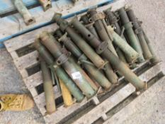 APPROXIMATELY 25 X No1 TYPE TRENCH SUPPORT PROPS.