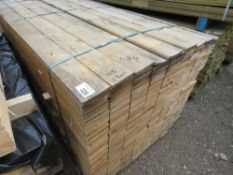 LARGE PACK OF UNTREATED FENCE CLADDING TIMBER BOARDS, 1. 74 M LENGTH X 10.5CM WIDTH X 1.2CM DEPTH A