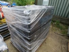 LARGE PALLET OF EMPTY PANASONIC POWER TOOL BOXES, APPEAR UNUSED.