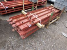 """13 x concrete road forms, 6"""" height approx, with pins, 3metre (10ft) length approx. NO VAT ON HAMMER"""
