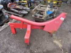 PIPE / CABLE LAYING PLOUGH, 3 POINT LINKAGE TRACTOR MOUNTED.