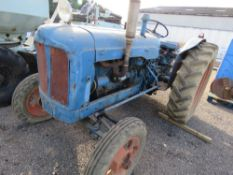 FORDSON POWER MAJOR CLASSIC / VINTAGE TRACTOR. ORIGINALLY SUPPLIED BY ERNEST DOES. LOCAL TRACTOR DIR