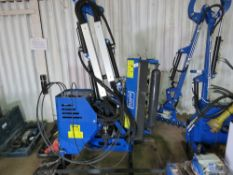 MAPLE MACHINERY AM100 COMPACT TRACTOR MOUNTED FLAIL UNIT. HYDRAULIC PUMP DRIVEN. 800MM WIDE FLAIL RO