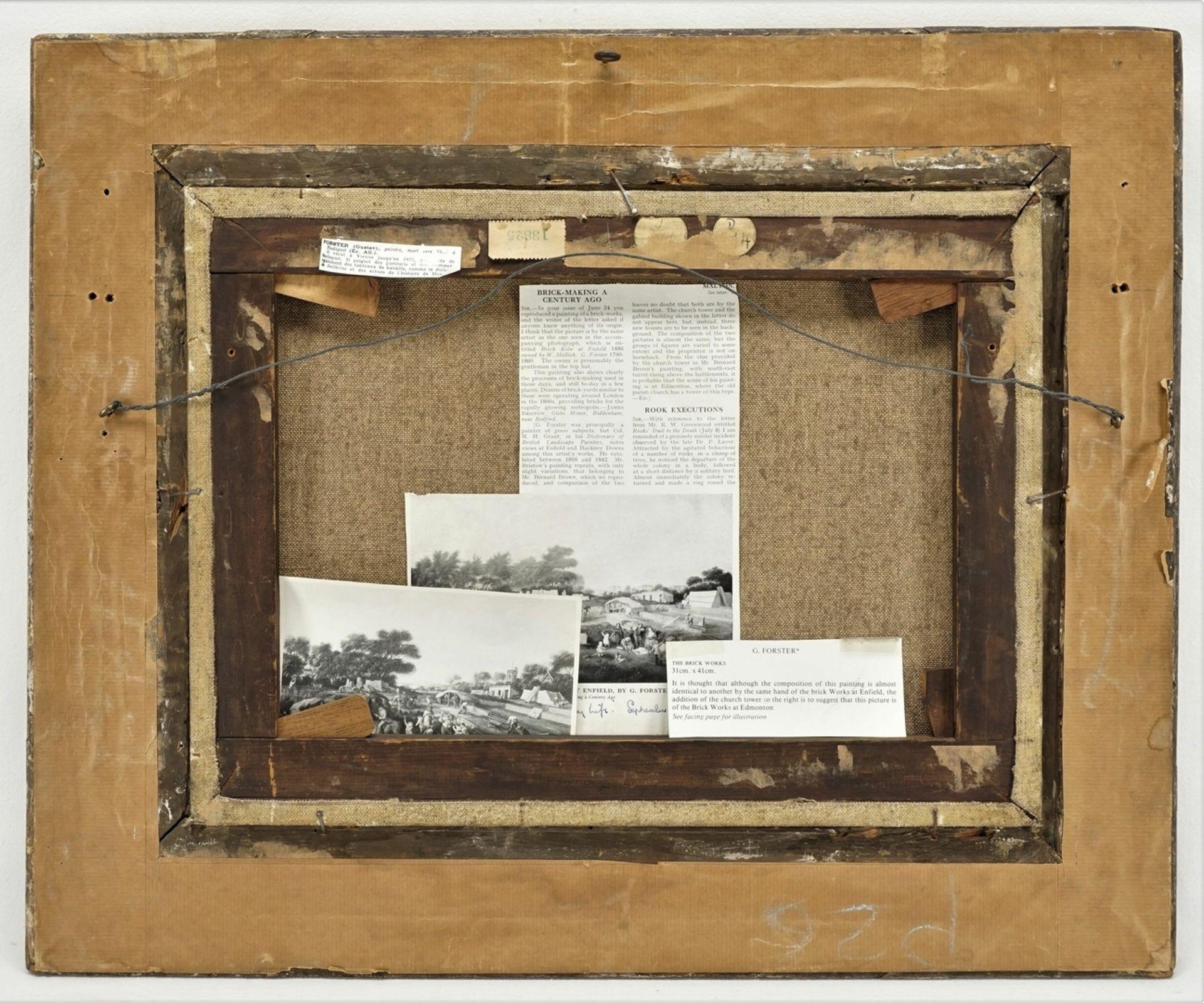 G. Forster, Ziegelfabrikation bei Edmonton, Middlesex - Bild 3 aus 3
