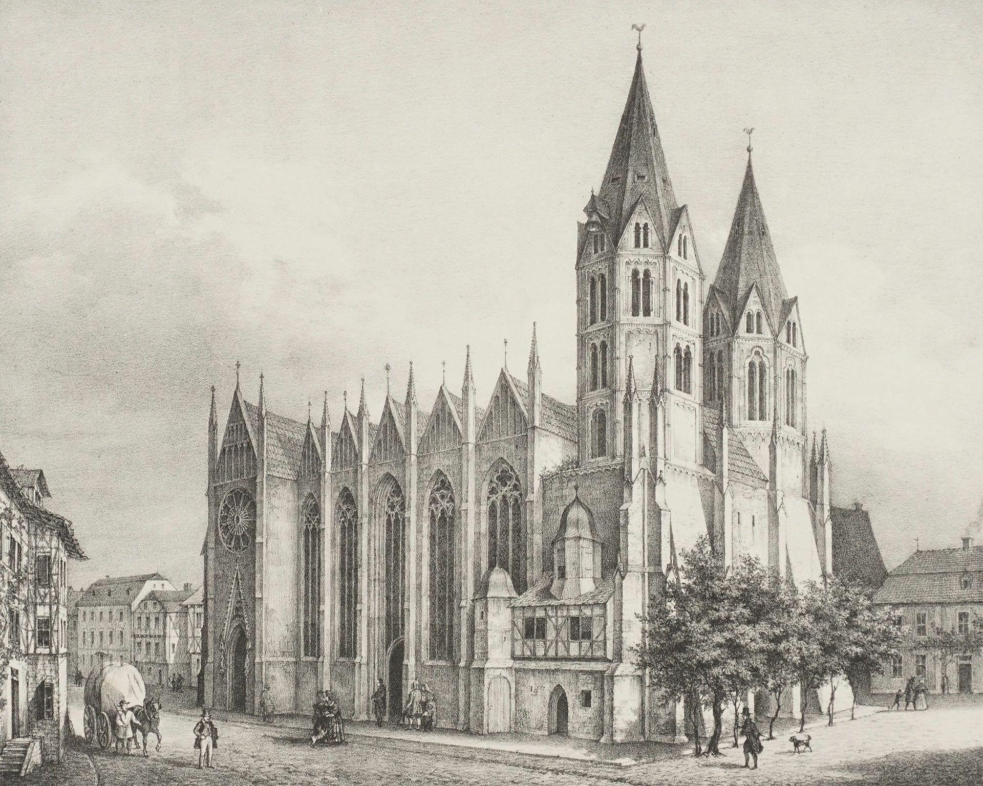 St. Blasien Kirche zu Mühlhausen in Thüringen