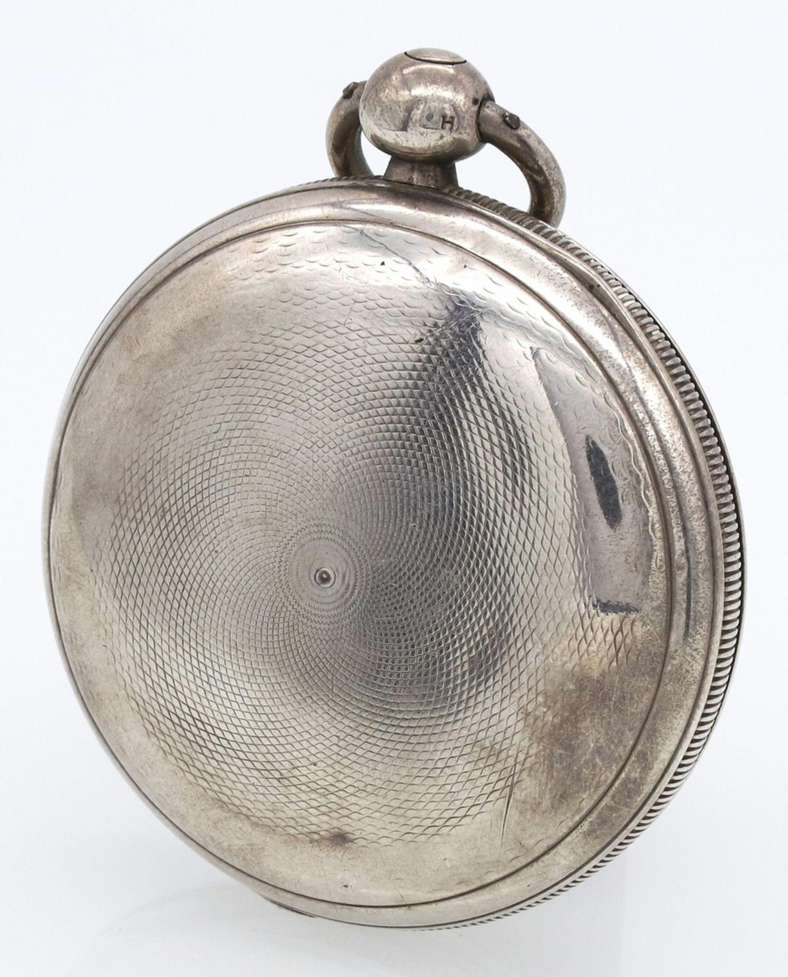 Bennet Wing London Spindeltaschenuhr mit Sprungdeckel, 1837 - Bild 4 aus 6