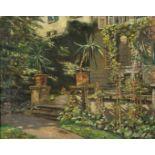 Ernst Hardt, An der Gartentreppe