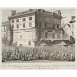 """Jean-Louis Prieur, """"Der Poebel befreyet mehrere in Verhaft genomene Soldaten, [...]"""""""