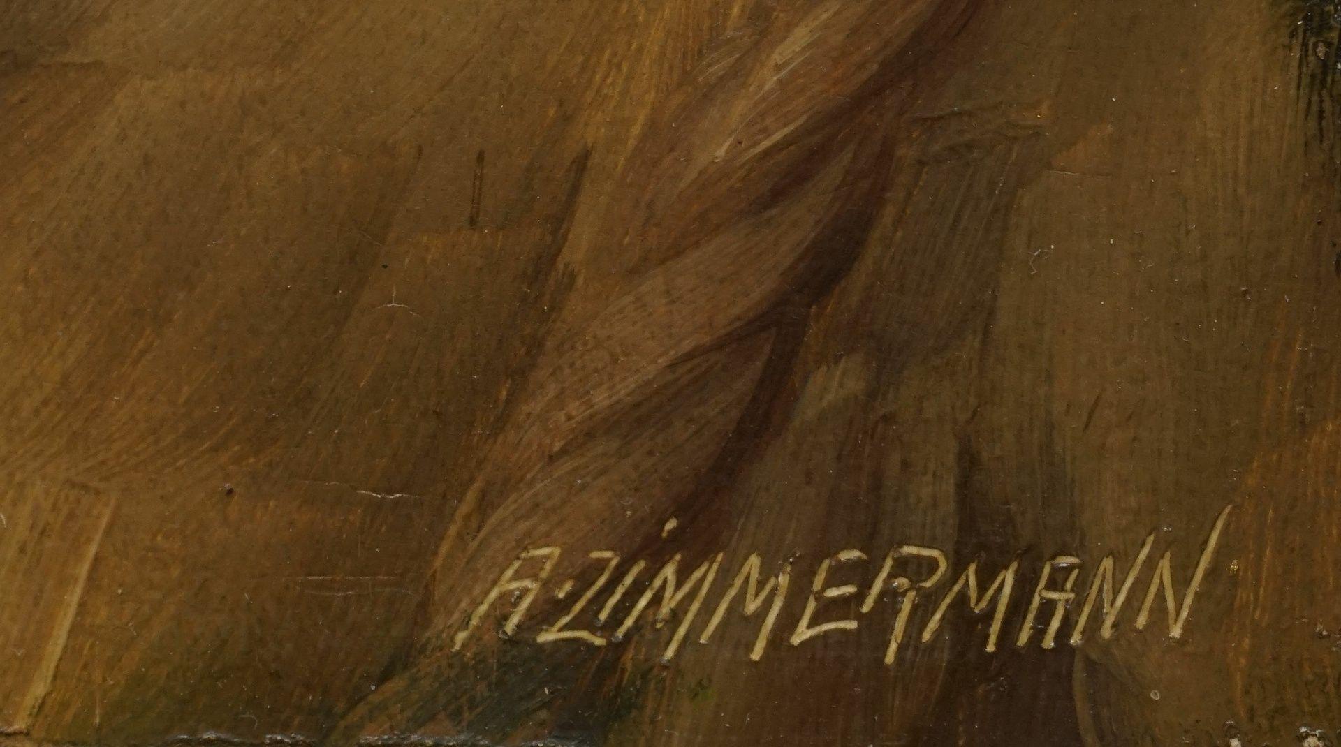 A. Zimmermann, Pfeife rauchender Fischer - Bild 4 aus 4
