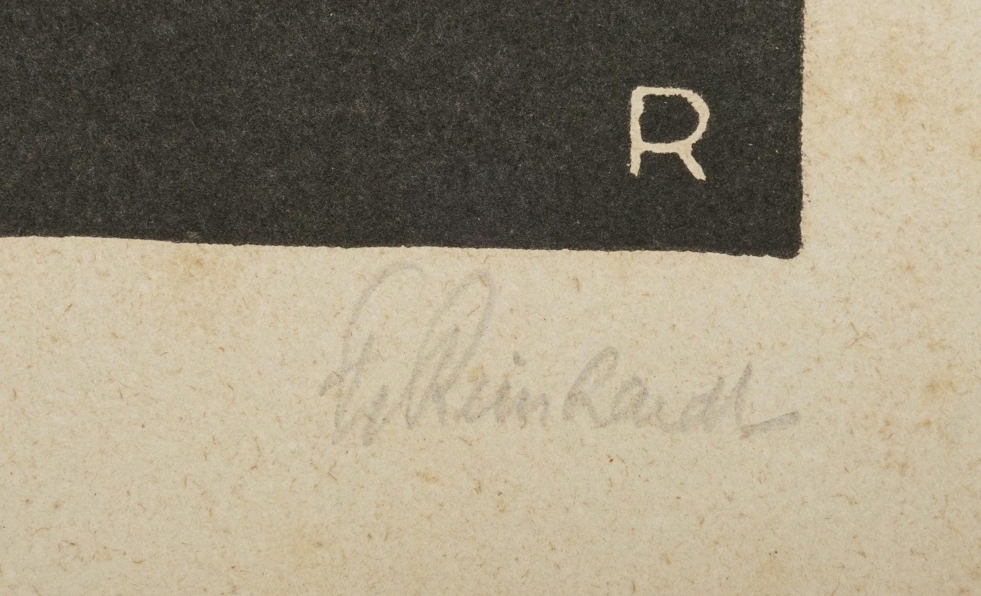 Zwei Holzschnitte um 1910 - Bild 3 aus 4