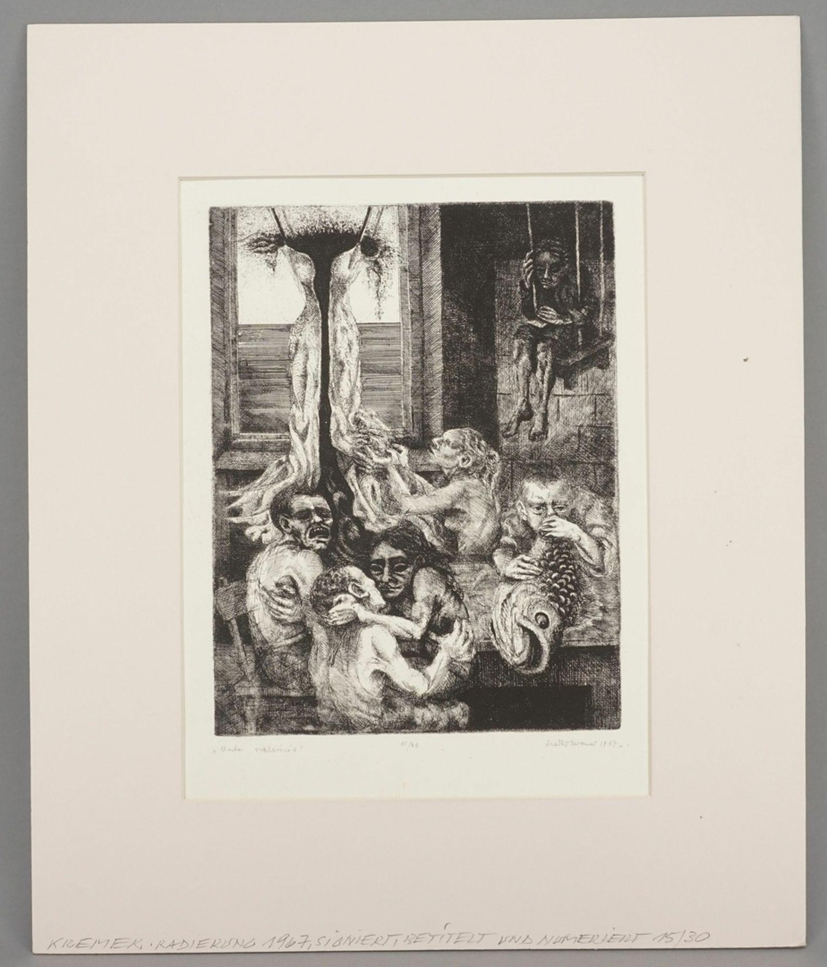 M. Kremer, Allegorie auf das Laster - Bild 2 aus 4