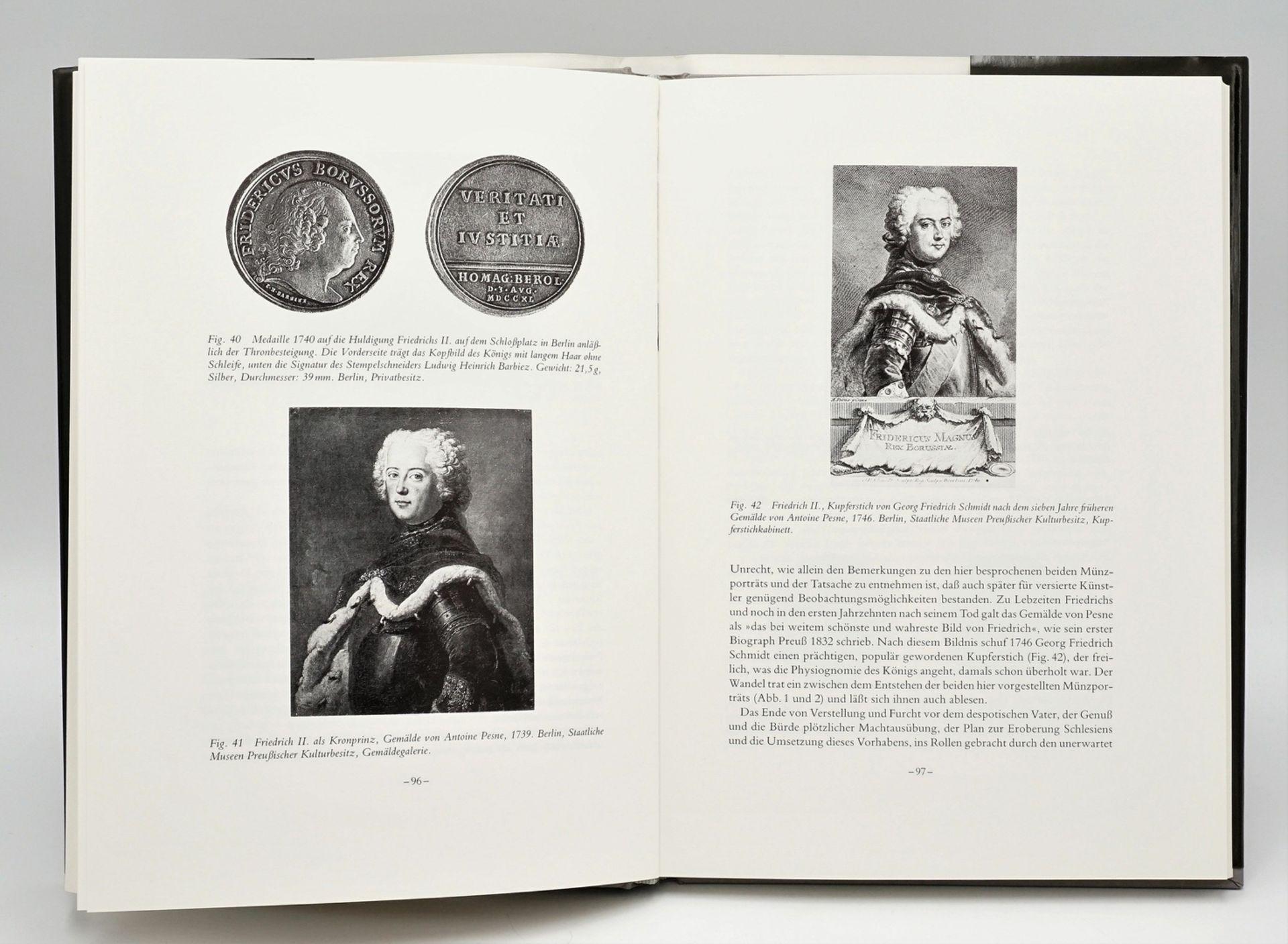 """Gunther Hahn/Alfred Kernd´l, """"Friedrich der Grosse im Münzbildnis seiner Zeit"""" - Bild 2 aus 2"""
