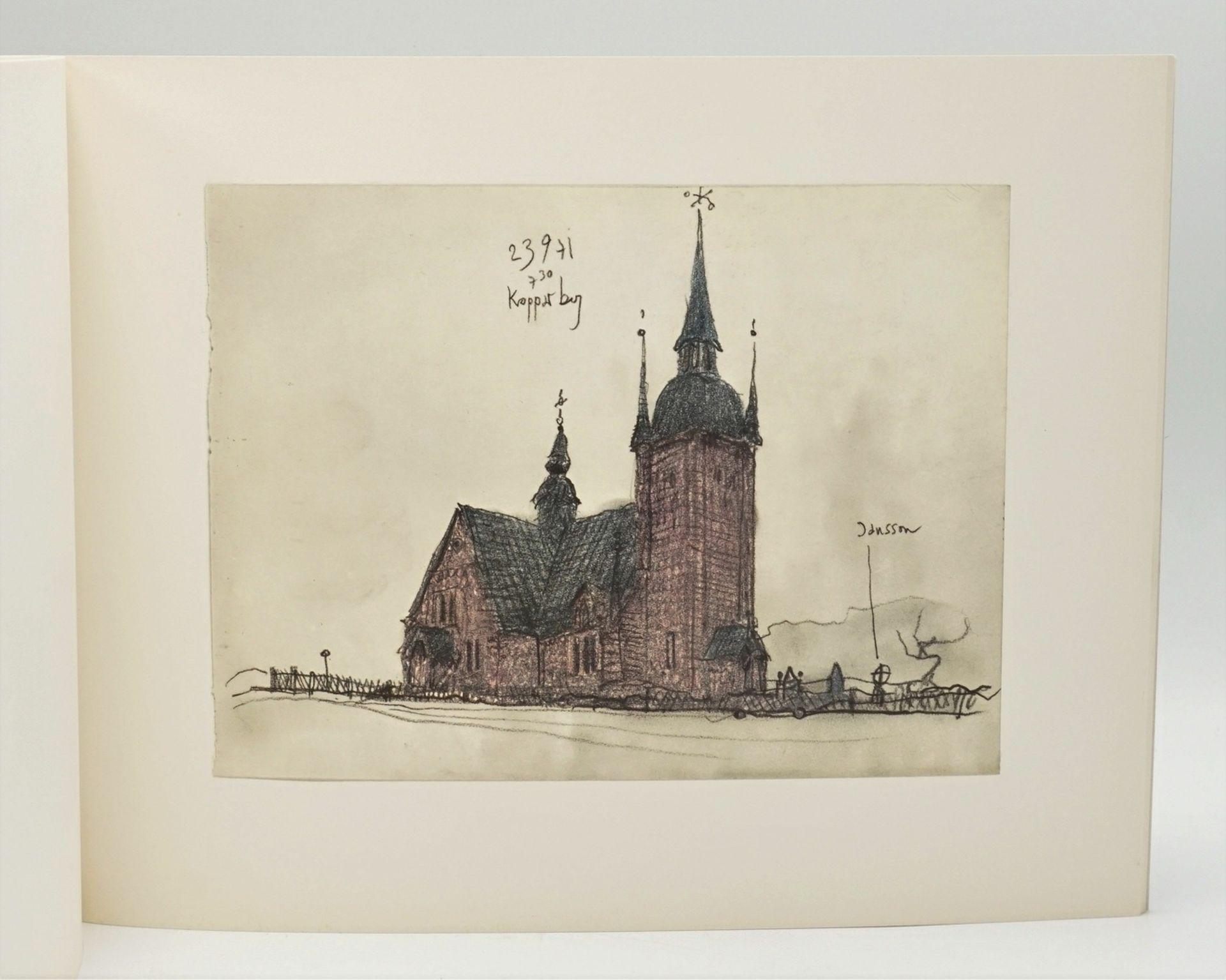"""Horst Janssen, """"Norwegisches Skizzenbuch"""" - Bild 3 aus 4"""