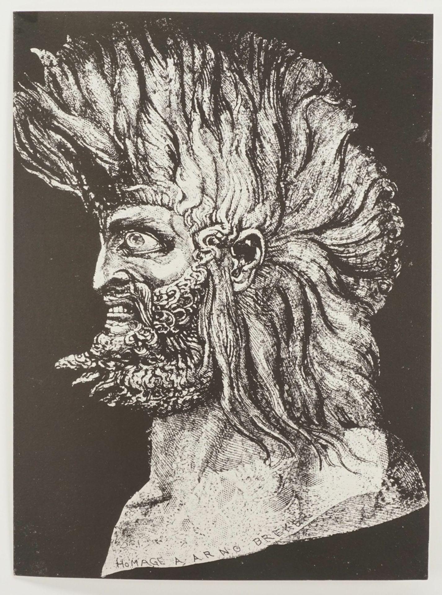 """Ernst Fuchs, """"Der junge Moses"""" - Bild 3 aus 5"""
