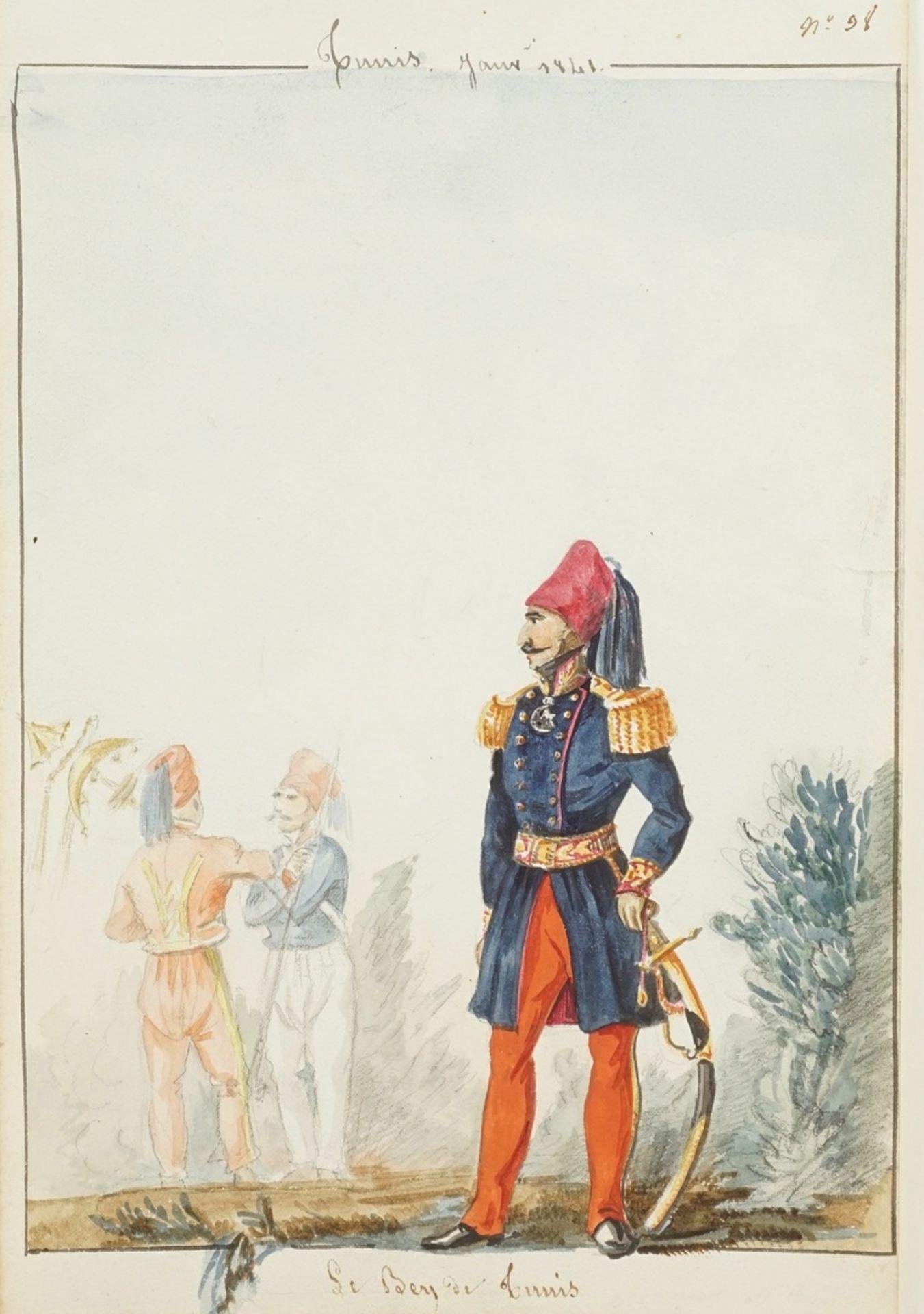 """Armand de Pasmond, """"Le Bey de Tunis"""""""