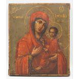 Ikone der Gottesmutter von Tichwin (Tichwinskaja), Russland