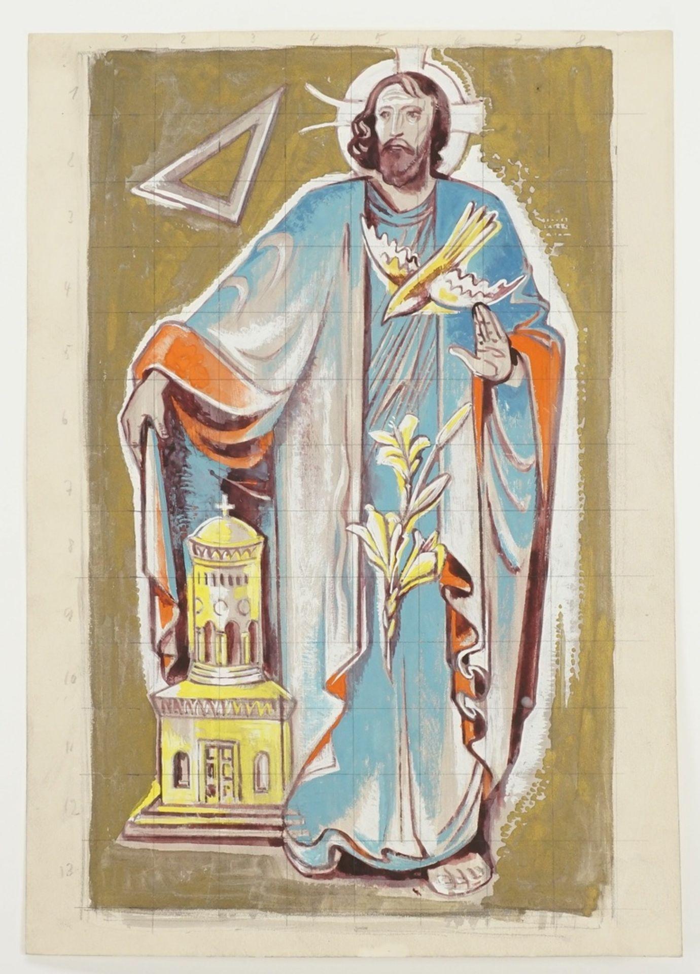 """Richard Schwarzkopf, """"Die heilige Dreifaltigkeit"""" - Bild 3 aus 4"""