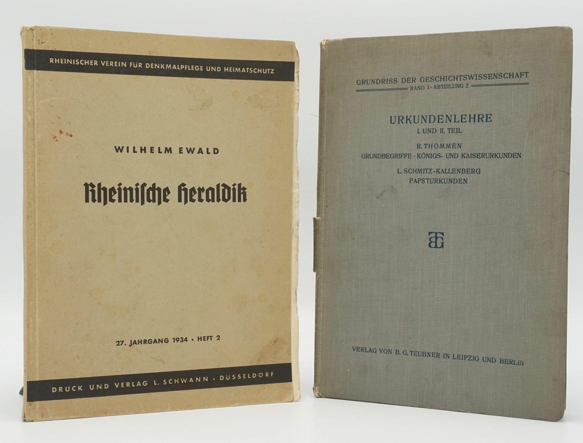 Rheinische Heraldik und Urkundenlehre