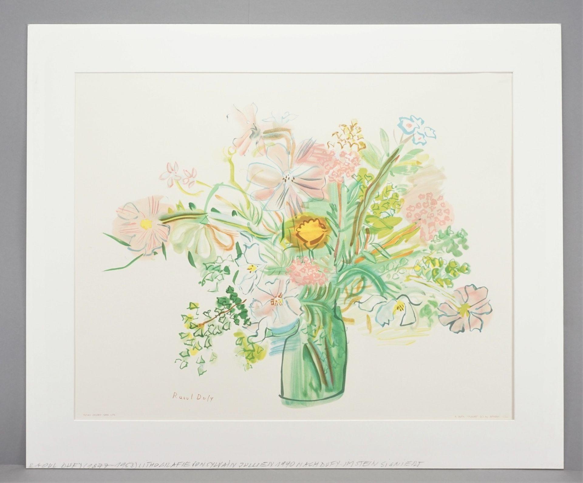 "Raoul Dufy, ""Fleurs"" (Blumen) - Bild 2 aus 4"