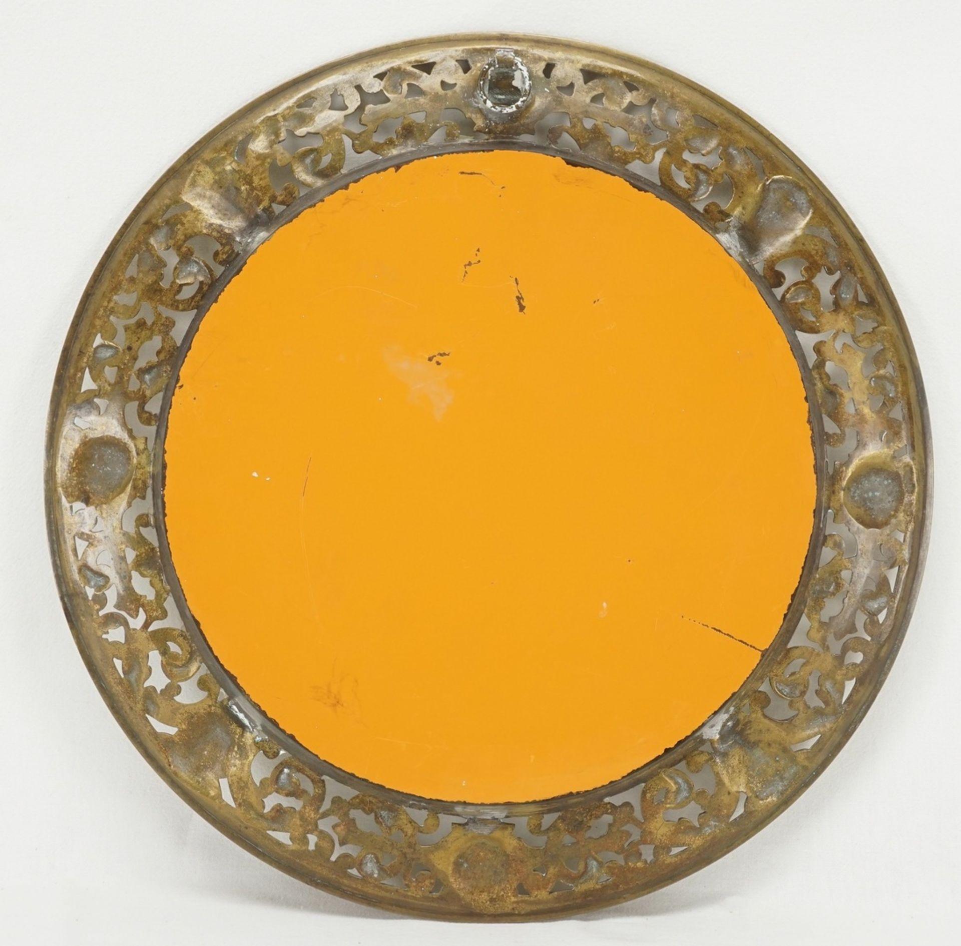 Spiegel, Messing - Bild 2 aus 3