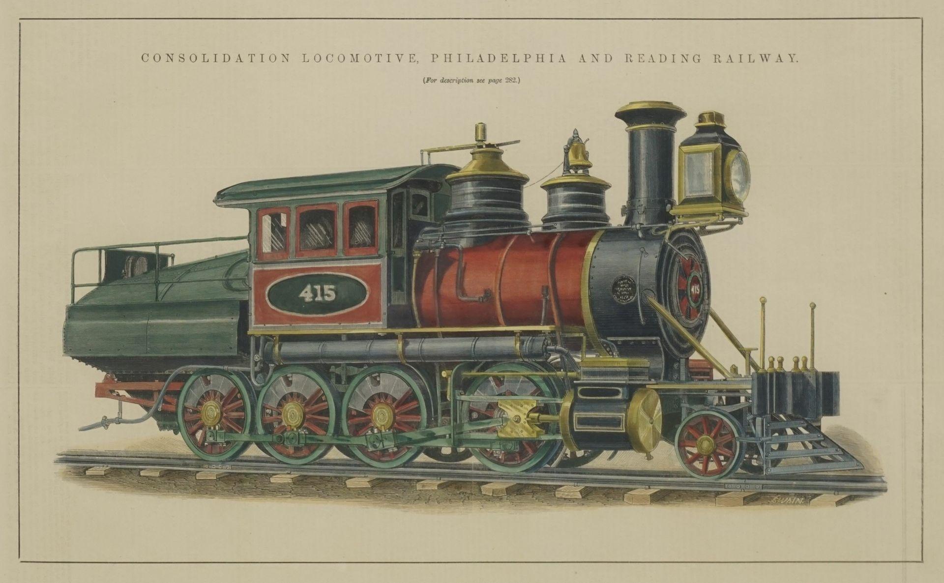 "Joseph Swain, ""Consolidation Locomotive Philadelphia and Reading Railway"""