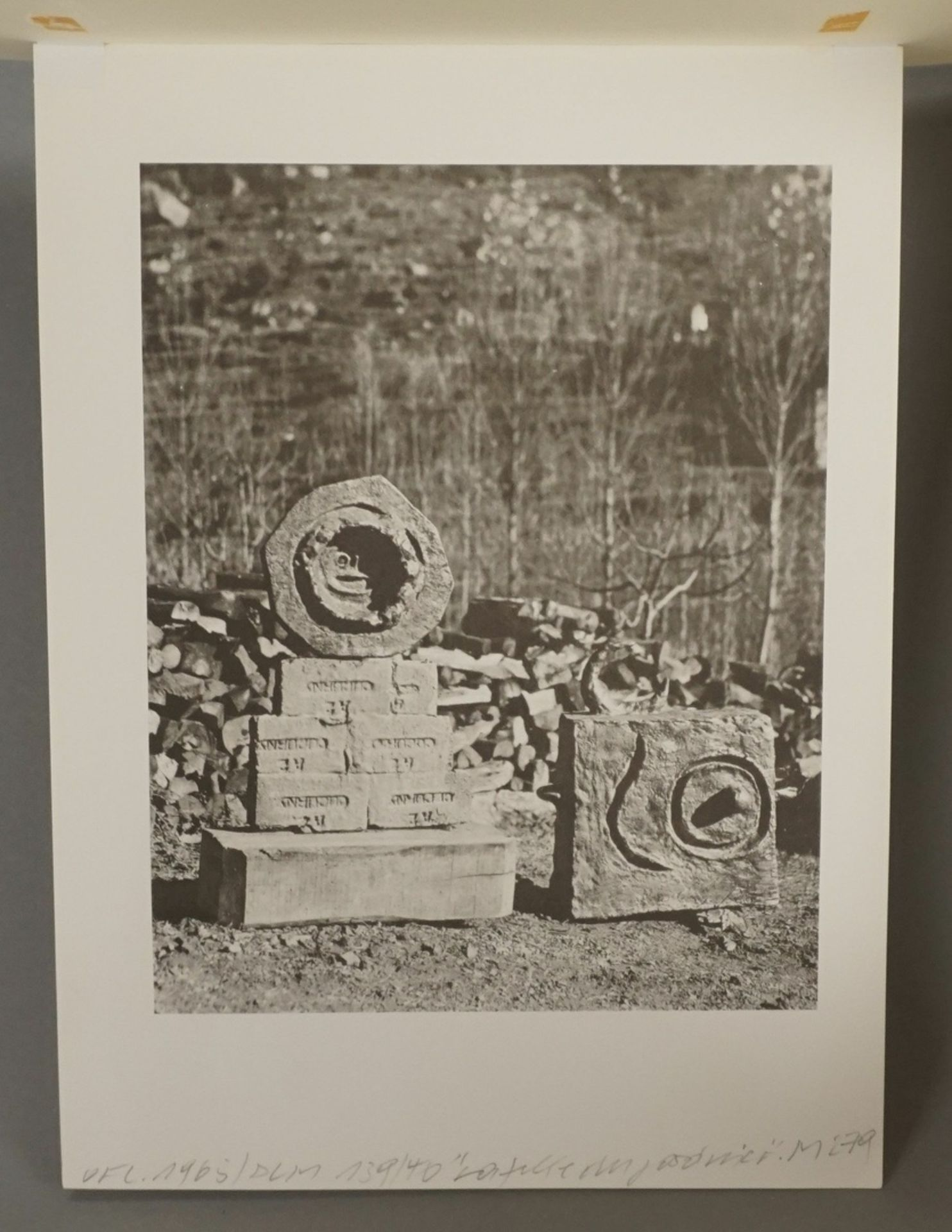 """Joan Miró, """"La fille du Jardinier II"""" (Die Tochter des Gärtners II) - Bild 4 aus 4"""