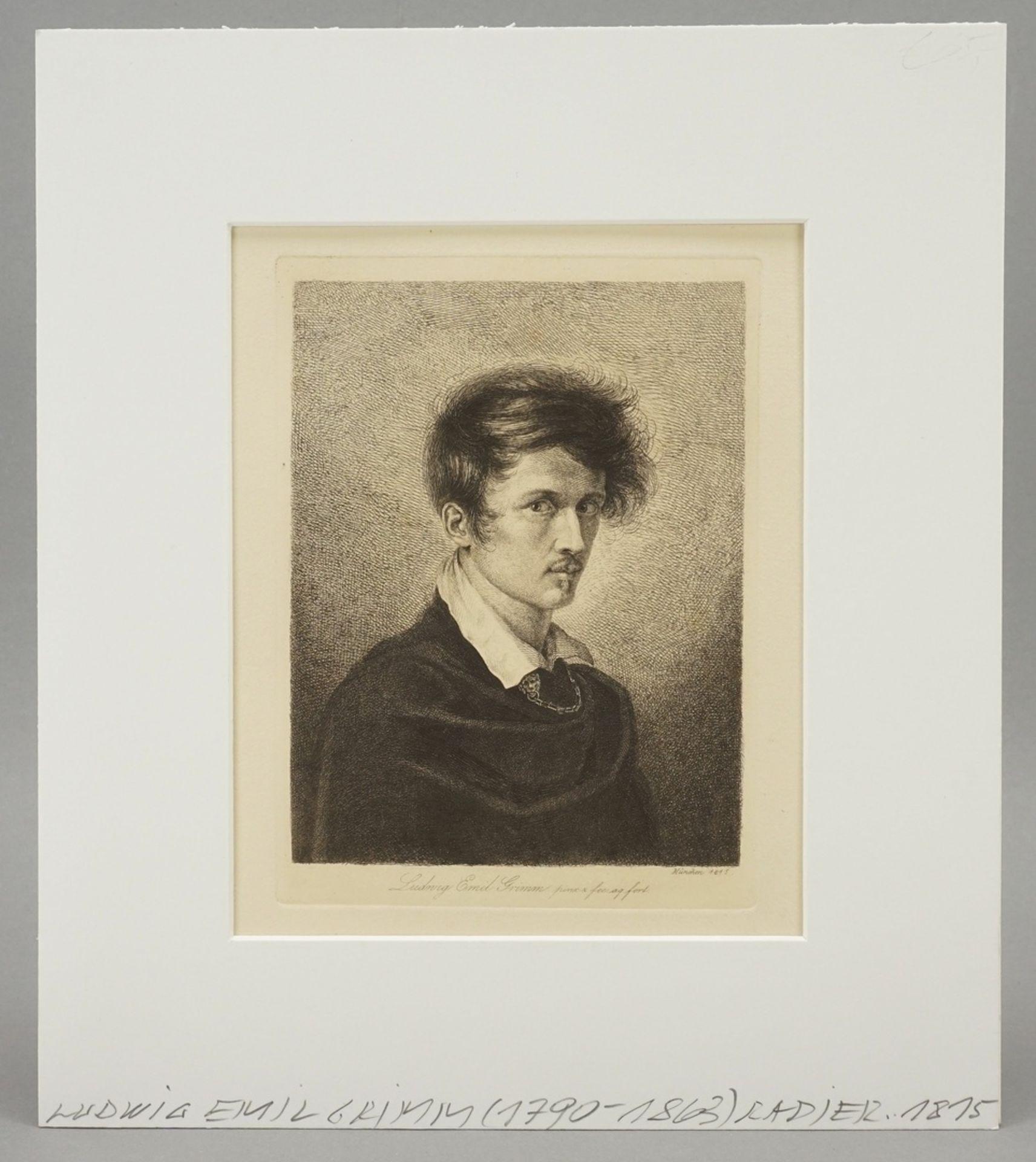 """Ludwig Emil Grimm, """"Selbst"""" - Bild 2 aus 4"""
