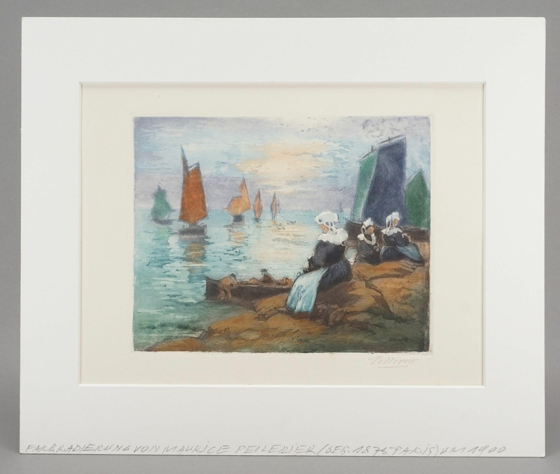 """Maurice Pellerier, """"Nuages d'orage"""" (Gewitterwolken) - Bild 2 aus 4"""