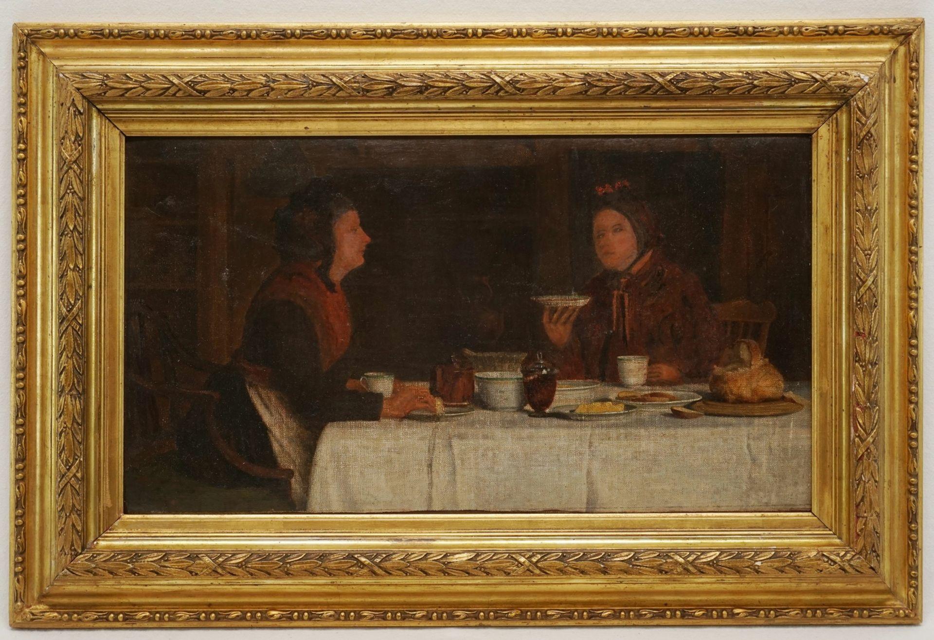 Henry Edward Spernon Tozer, Zwei Damen beim Tee - Bild 2 aus 3