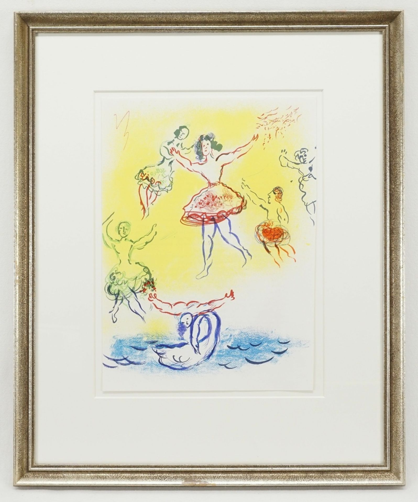"Marc Chagall, ""Le Lac de Cygnes"" (Schwanensee) - Bild 2 aus 2"