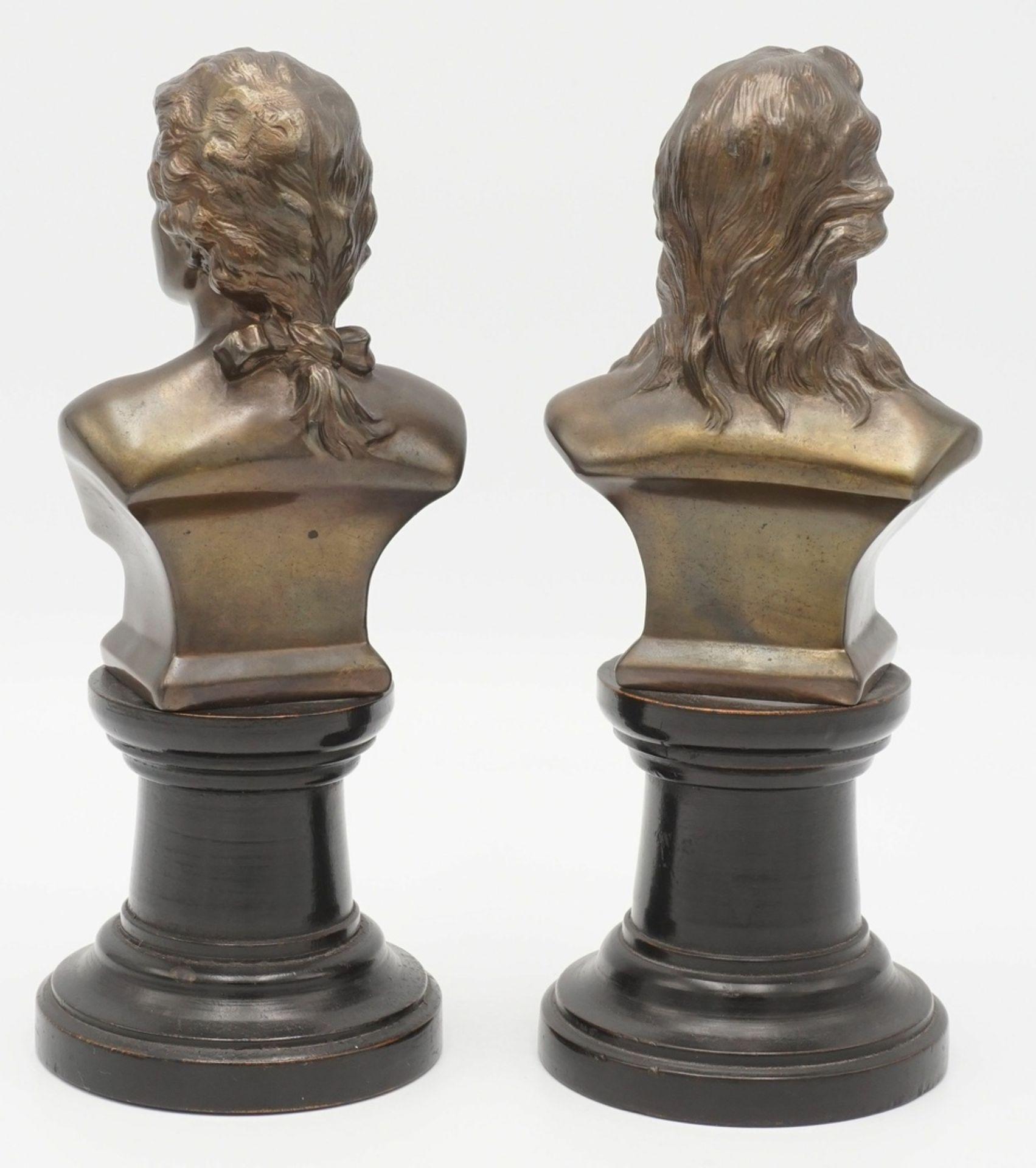 Zwei Klavierbüsten - Bild 2 aus 2