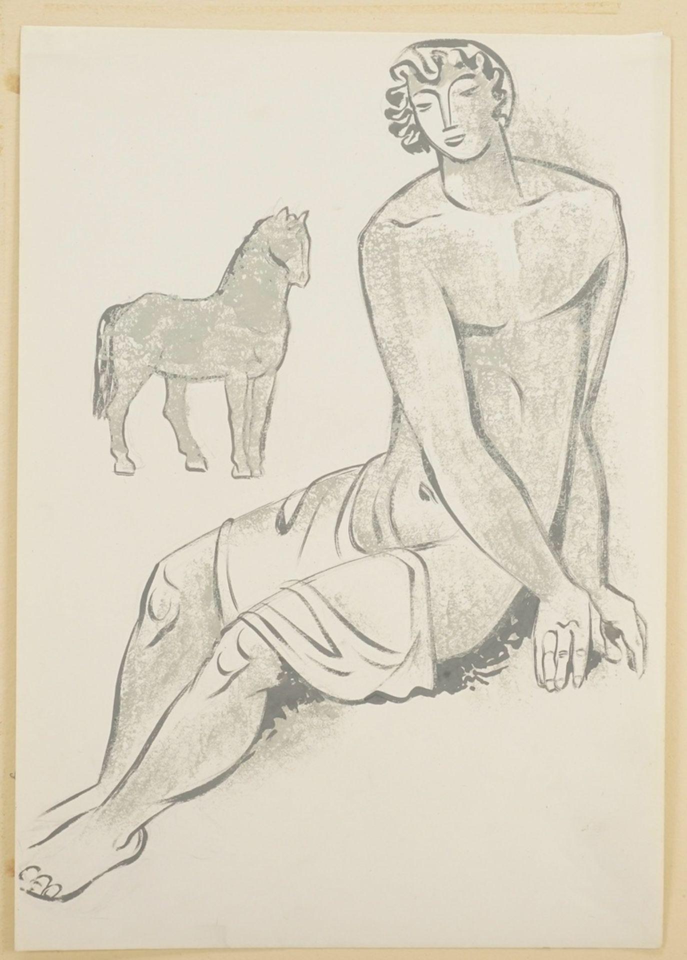 """Richard Schwarzkopf, """"Jüngling mit Pferd"""" - Bild 3 aus 4"""