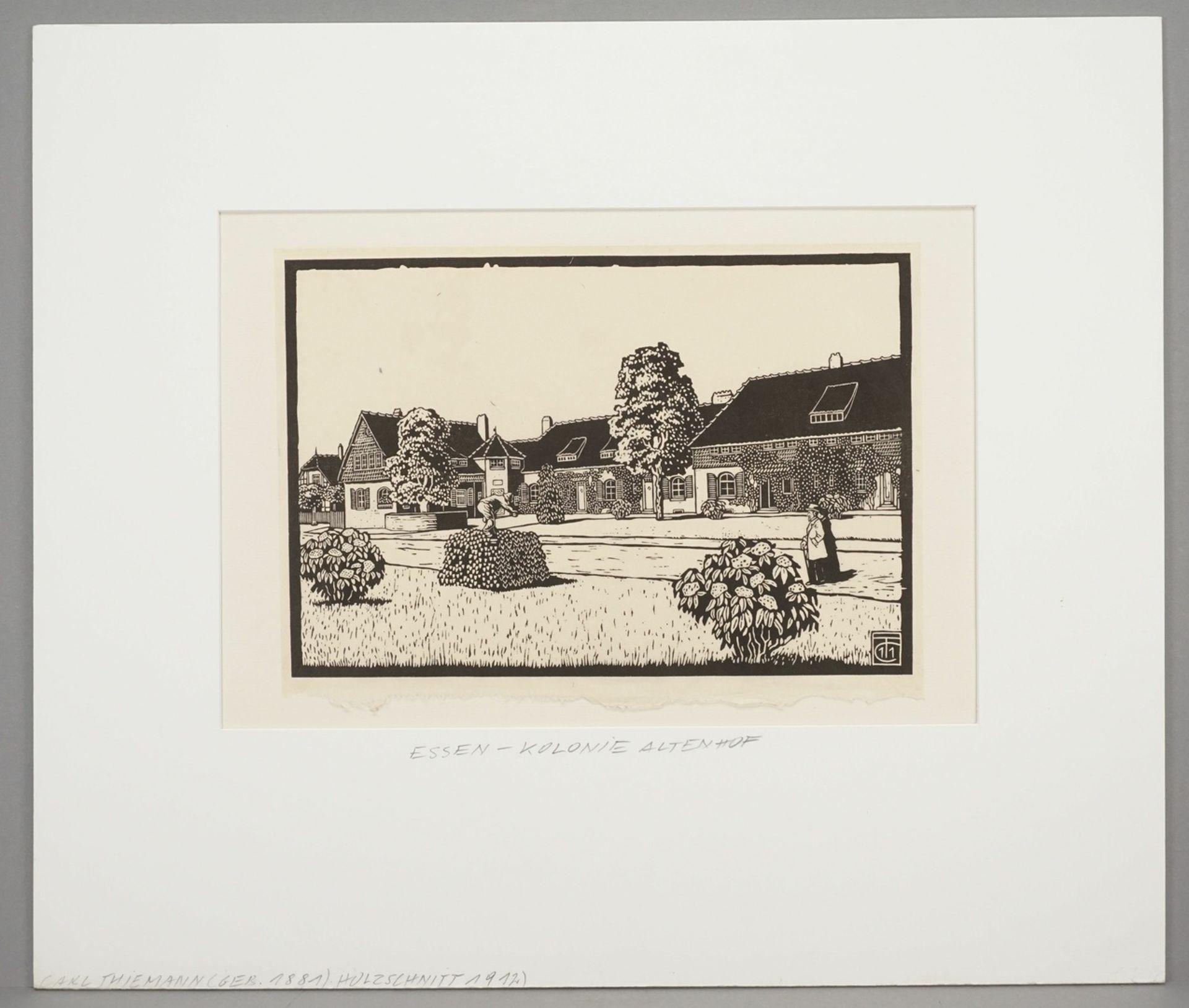 """Carl Theodor Thiemann, """"Kolonie Altenhof (Essen)"""" - Bild 2 aus 3"""