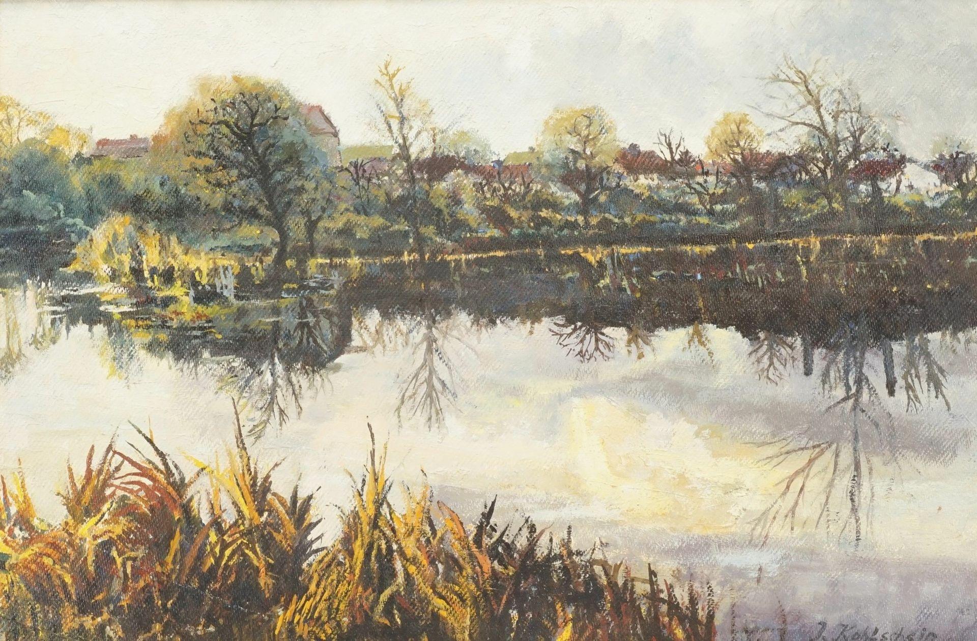 """Landschaftsmaler """"Herbst am See"""""""