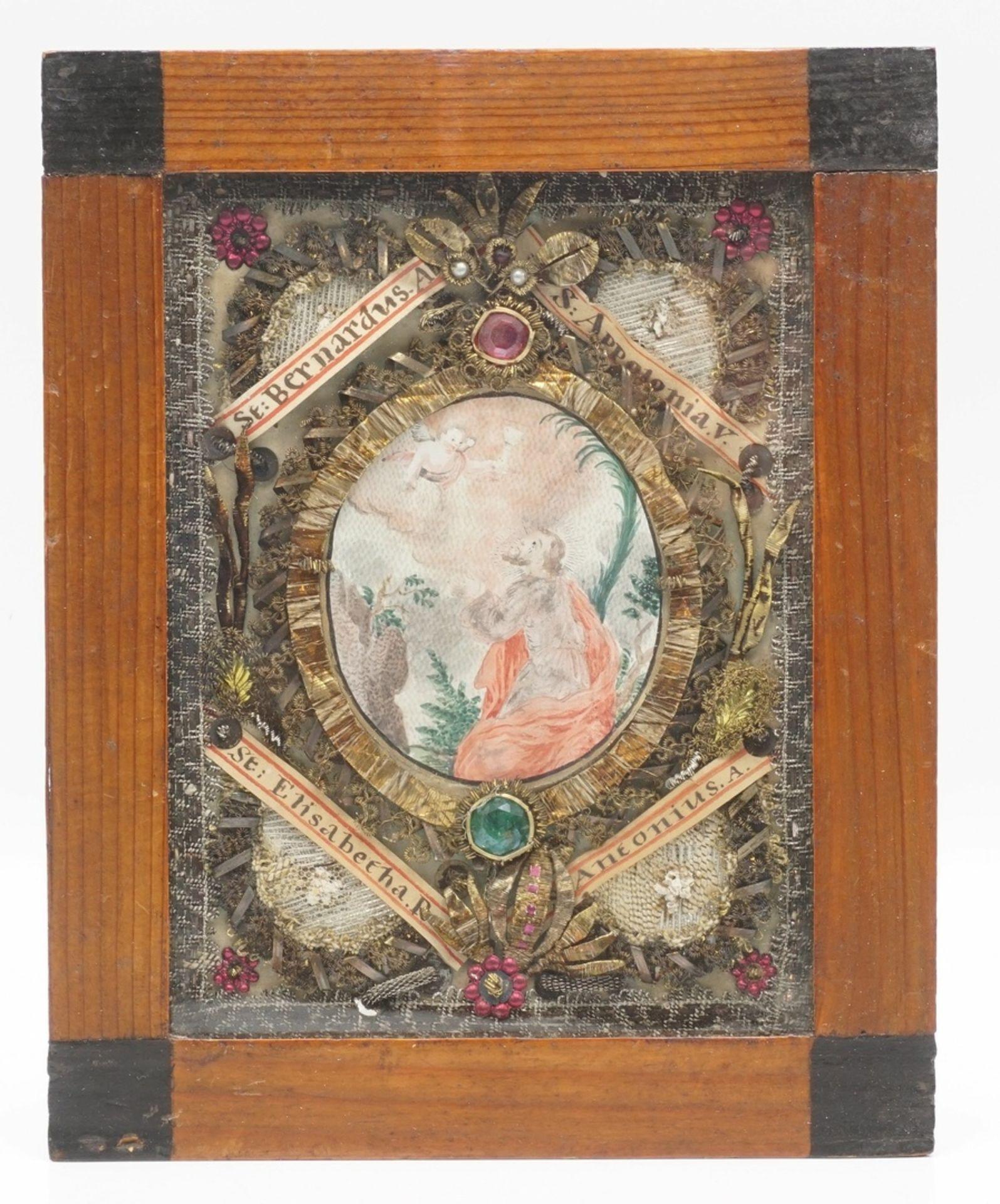 Zwei Andachtsbilder, 19. Jh. - Bild 4 aus 4